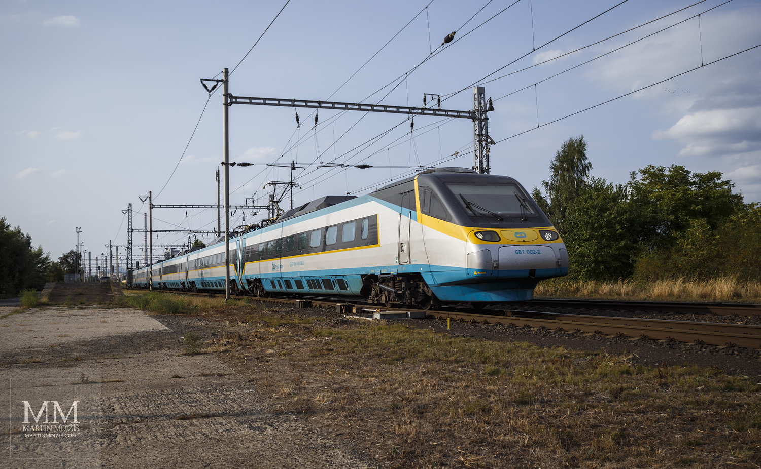 Pendolino in North Bohemia? Photographic wanderings.
