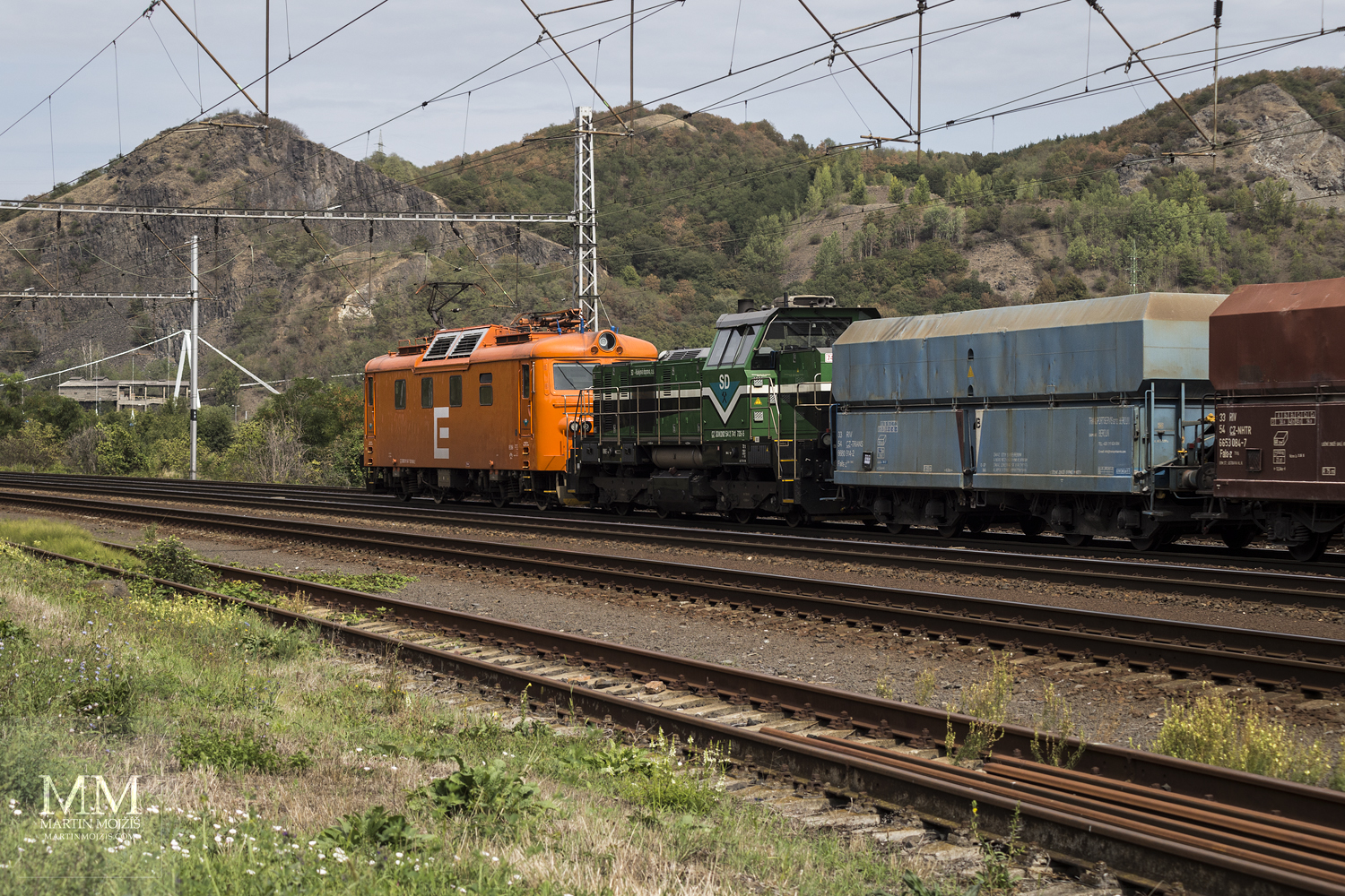 Locomotives ČEZ (SD Nordbohemian mines).