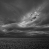 IN THE SILENT AFTERNOON. Large format Fine Art photograph of dramatic landscape. Martin Mojzis.