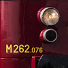 Fine-art photograph of small red and yellow train. Martin Mojzis.
