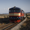 Large format, fine art photograph of Czech diesel-electric locomotive type 749. Martin Mojzis.