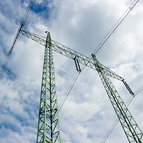 High voltage tower. Professional photography of all industrial and energy fields.